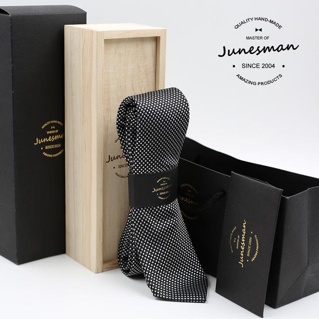 2016 preto formal do negócio gravata homens kravat gent mariage casamento masculino gravata gravata menino amigo marido presente com caixa