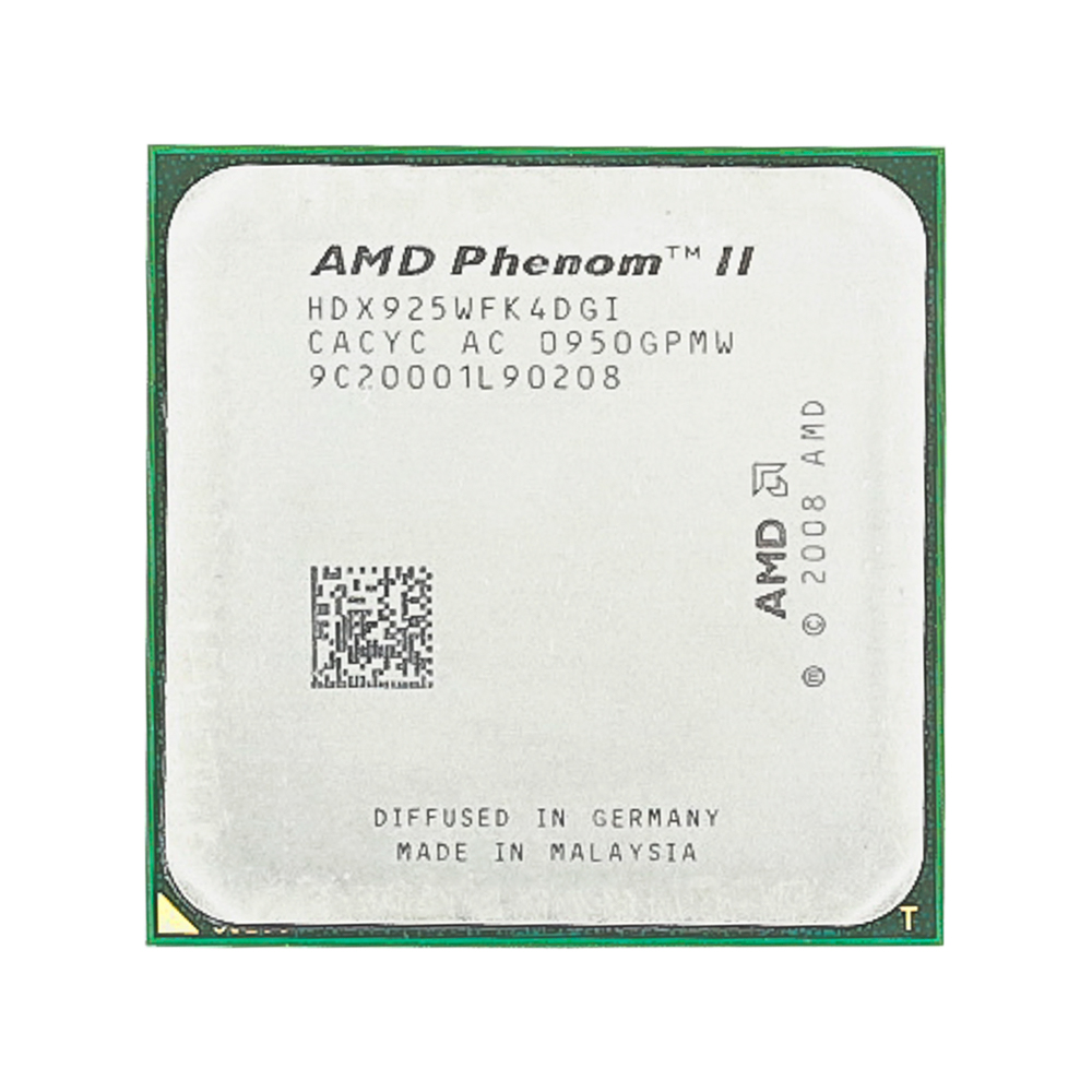 AMD Phenom II X4 925 CPU 2.8GHz/6MB L3 Cache/Socket AM3 Desktop Quad Core