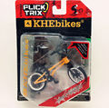 Newest Flick Trix Finger bike orange Bmx Diecast Nickel Alloy Stents Professional Finger Bicycle Novelty Mini Toys
