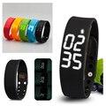 W2 Smartband Slim Smart Bracelet USB Wristwatch 3D Pedometer Sleep Temperature Calorie Monitor Time Display Fitness Sports Wrist