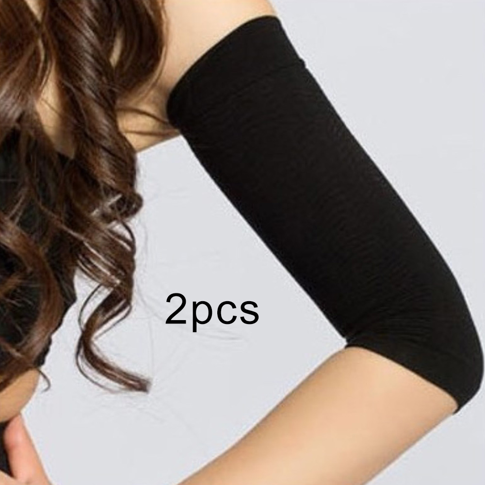 54179672f5 Dropwow 1 Pair Slimmer Arm Sleeves Women Weight Loss Band Wrap Belts ...