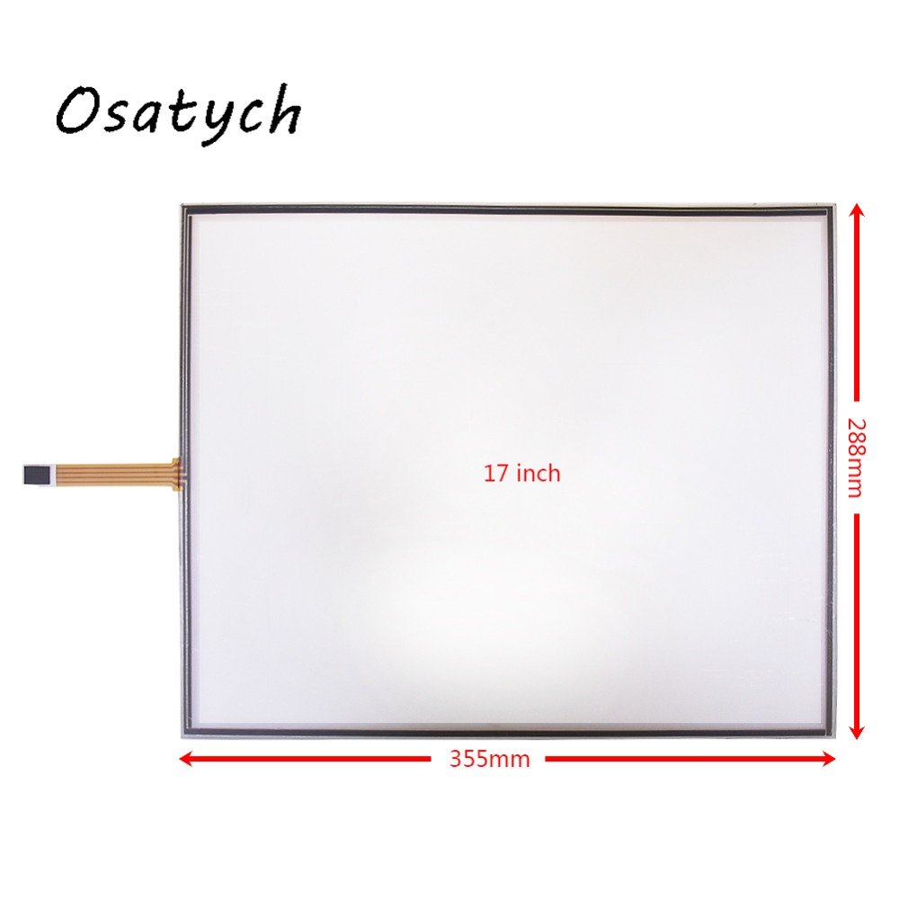 17 Inch includes USB Controller Resistive Touch Screen Panel 4 Wire USB Touch Panel Kit 355mm*288mm 288mmx355mm Resistive free shipping new stock 5 pcs lot 15 6 inch 363 215 usb resistive touch screen panel