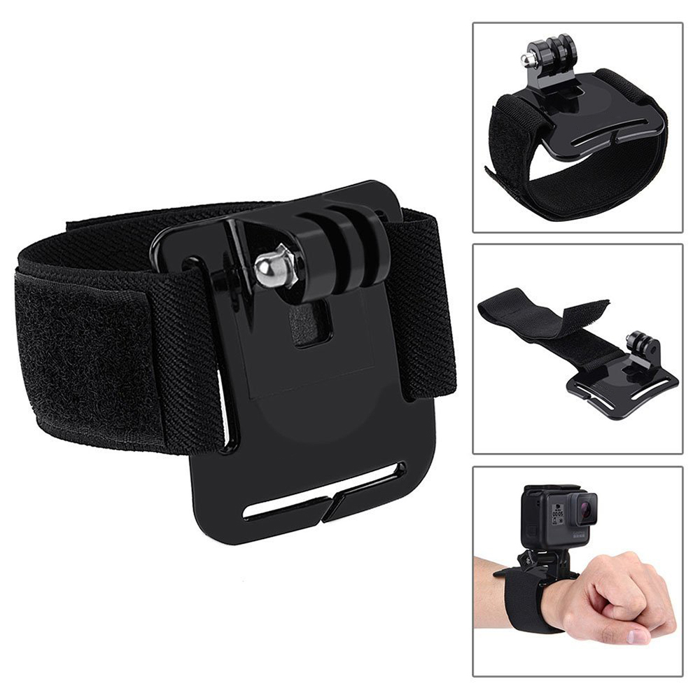 Image 5 - Action Camera Accessories Kits For Gopro Hero 7 6 5 Case Buoyancy Rod Straps Mounts For Gopro Here 7 4 Session Accessories Yi 4K-in Sports Camcorder Cases from Consumer Electronics