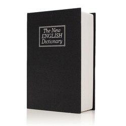 180x115x55mm Metal + płyta papieru słownik Book tajemnica ukryta bezpieczeństwa sejf blokada klawisza Cash Money szafki biżuterii trwałe w Sejfy od Bezpieczeństwo i ochrona na