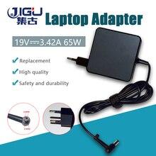 JIGU 19V 3.42A 5.5X2.5mm 65w AC מטען נייד מתאם חשמל עבור Acer \ asus \ hp \ toshiba \ msi \ עבור lenovo \ עבור dell A43E X43BU מחשב נייד