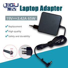 JIGU 19V 3.42A 5.5X2.5mm 65w chargeur dordinateur portable adaptateur secteur pour Acer \ asus \ hp \ toshiba \ msi \ pour lenovo \ pour ordinateur portable dell A43E X43BU