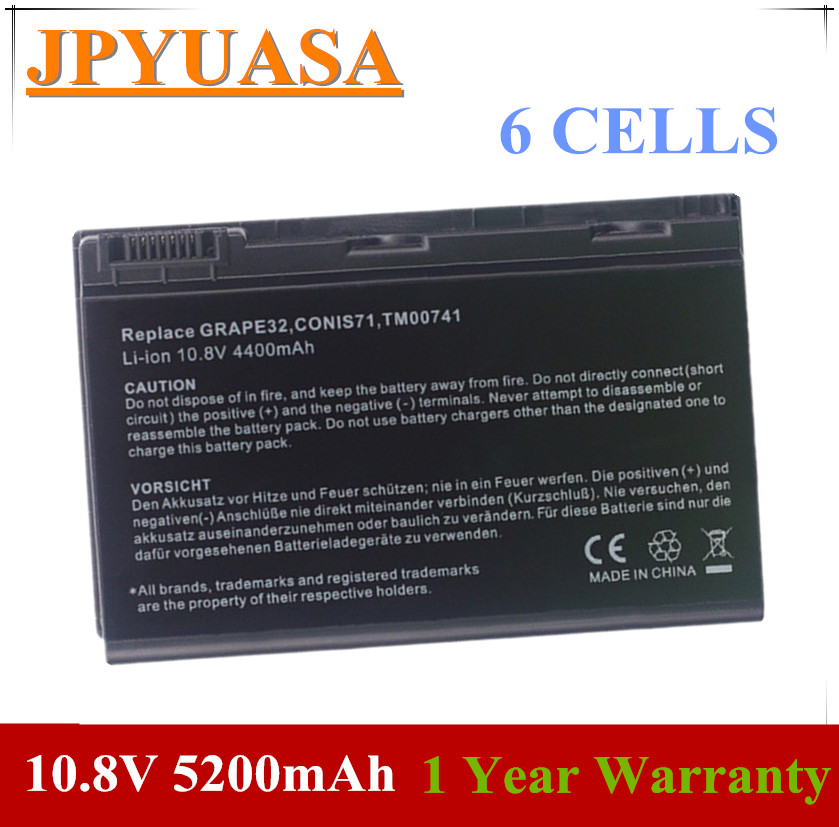 7XINbox 10.8V GRAPE32 TM00741 Laptop <font><b>Battery</b></font> For <font><b>ACER</b></font> Extensa 5120 <font><b>5210</b></font> 5220 5230 5235 5420 5430 5610 5620 5630 7120 7420 7620 image