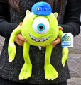 35 CM Monsters Inc Mike Wazowski Juguete Monsters Universidad de Peluche Suave Muñeca de Peluche para Los Niños Regalo
