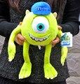 35CM Monsters Inc Mike Wazowski Plush Toy Monsters University Soft Stuffed Doll for Kids Gift