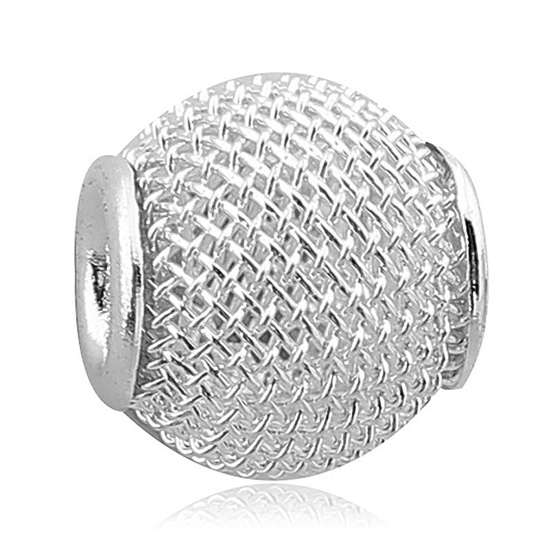 ᐊEnvío libre 1 unid plata brillante Tenis bola calabaza encanto de ...