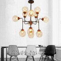 Подвесной кулон стеклянный шар подвесные светильники потолочные стекло люстра абажуры