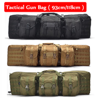 93cm / 118cm Tactical Sniper Shooting Rifle Gun Bag Hunting Airsoft Gun Shoulder Backpack Large Capacity Outdoor Sport Bag