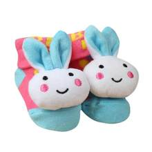 #5001 Cartoon Newborn Baby Girls Boys Anti-Slip Socks Slipper Shoes Boots DROPSHIPPING New Arrival Freeshipping Hot Sales(China)