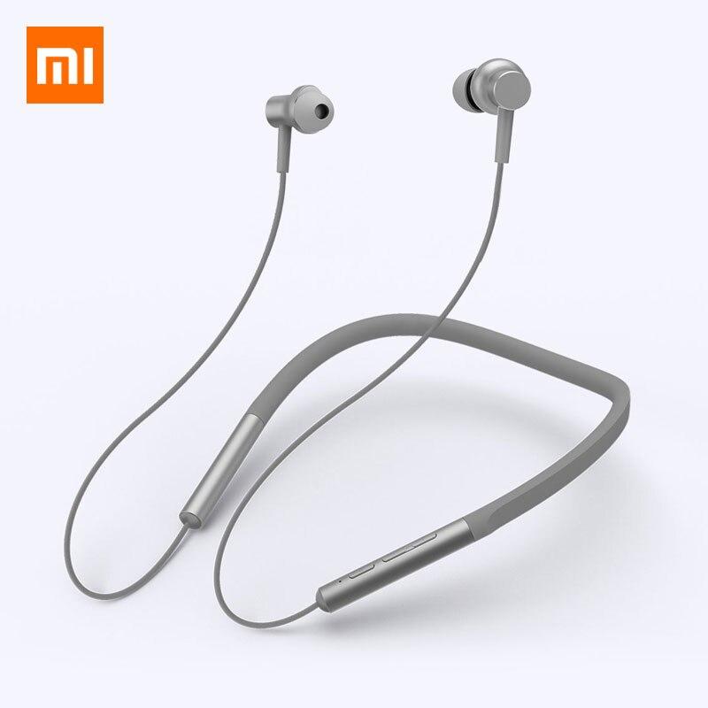 Xiaomi Bluetooth collier de cou écouteur Sport casque sans fil magnétique avec micro hybride double pilote dynamique intra-auriculaire