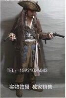 Карибский пиратский взрослых Для мужчин Grand Heritage Коллекция Делюкс костюм Джек Воробей Роскошные пальто комплект