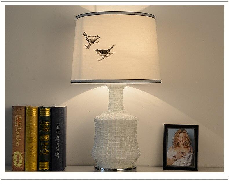 Туда Бесплатная доставка американский кантри Стиль настольная лампа личность Стекло Настольная лампа для Гостиная Спальня кабинет E27