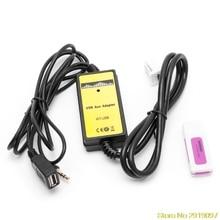 2x6Pin Audio AUX Cable Car Auto Radio Lettore USB Aux-in Cavo Adattatore MP3 Interfaccia Per Toyota Camry/ corolla/Matrix