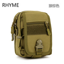 Rhyme Famous Bag Men Mini Bags Man Casual Messenger Multifunctional Canvas Shoulder Crossbody Bags Mens Satchel