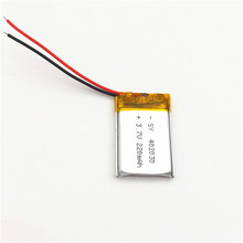 JY-FIRE 1PCS High temperature lithium polymer battery 042030 402030 3.7V 220mah MP3 MP4 MP5 GPS With wire стоимость