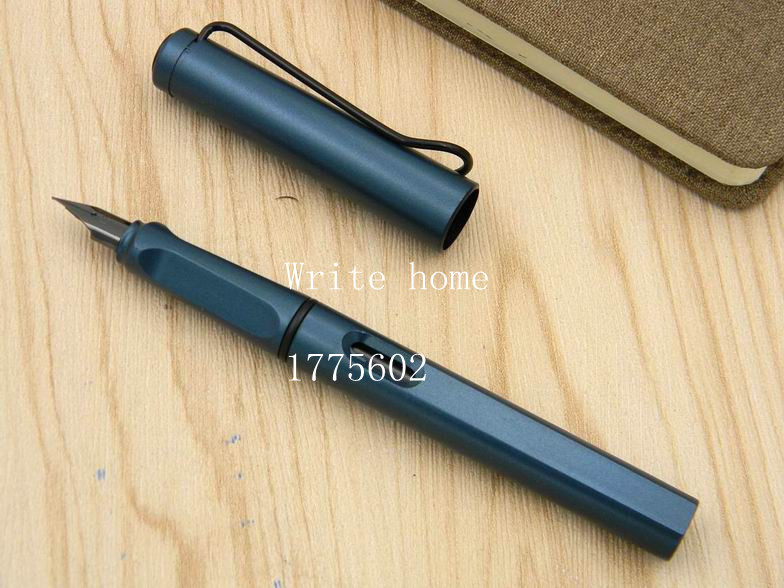 Lamy Safari Luxury Fountain Pen EF Nib Dark Matte Ink Classic Pens Business Gift