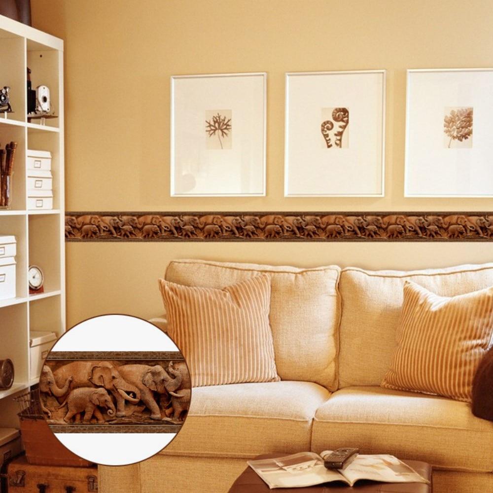 Aliexpress.com : Buy Creative Self Adhesive Wallpaper Baseboard ...