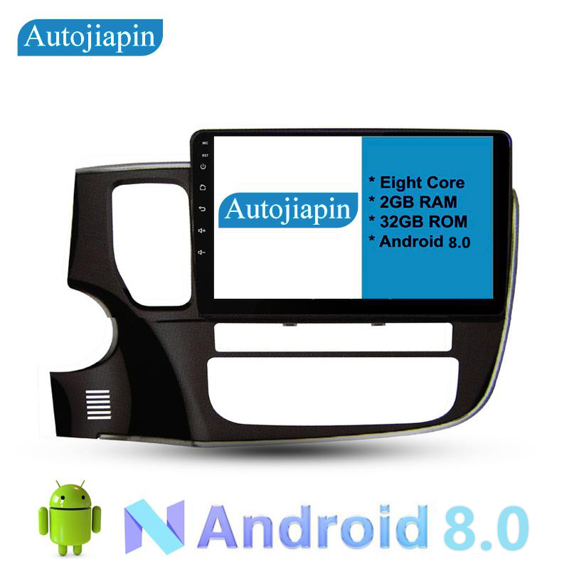 AUTOJIAPIN 10.1 Eight Core Android 8.0 2G RAM 1024*600 Car GPS navigation For MITSUBISH OUTLAND 2017 With Car Stereo Radio DAB