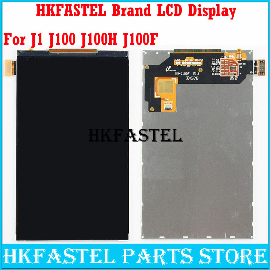 HKFASTEL Cell phone LCD For <font><b>Samsung</b></font> Galaxy J1 J100F J100 SM-J100F <font><b>J100H</b></font> SM-<font><b>J100H</b></font> <font><b>Display</b></font> Panel Screen Monitor Moudle Replacement image