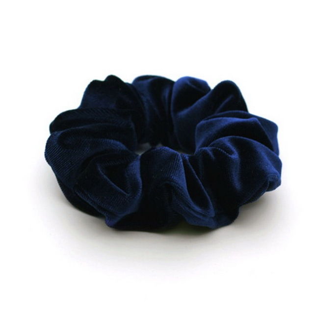 isnice women's winter velvet hair Scrunchies Hair Tie Hair Accessories Ponytail Holder Hair scrunchy Hot Sale ornament 4