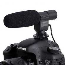 SG-108 DV Stereo Video Shotgun Mic Microphone for Nikon Canon Camera DV Camcorder