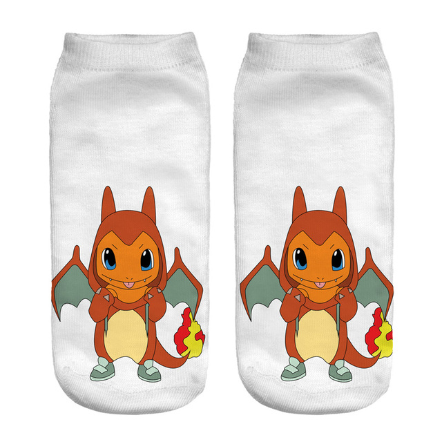 Pokemon Theme Socks