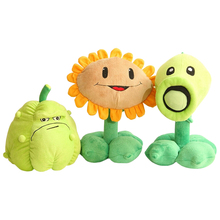 Toy Plush-Toys Peashooter Sun-Flower Doll Zombies Stuffed Soft Kids 3-Styles-Plants Vs