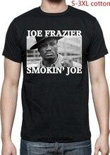 8a633c454979 Camisa dos homens T Shirt Design s Smokin Joe Frazier Joe Foto Boxen Zomer  Curto-Luva T Nova Moda t-Shirt women