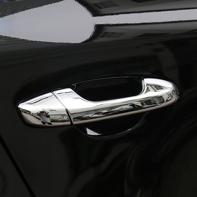 Para Kia Sportage KX5 QL 2016 2017 2018 ABS Chrome Tampa de Proteção Maçaneta da porta Do Carro guarnição Etiqueta acessórios do carro styling 8 pcs