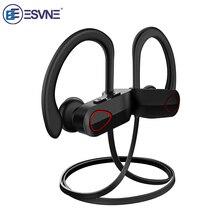 ESVNE HiFi Stereo Earphone Bluetooth Headphones Sport Wireless Headset Gamer IPX7 Waterproof True Earbuds For Phone