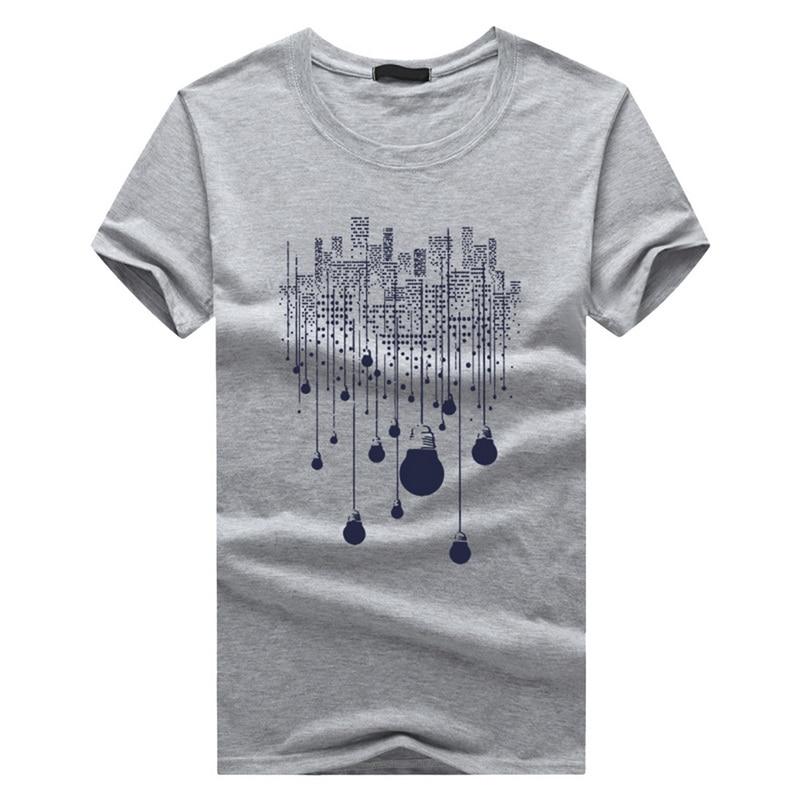 Nibersser 6xl Short Sleeve Men's Tee Shirts Slim Cool Casual Summer Tshirts Male Brand 2019 Cool Top Tees Printed Clothing Wear #4