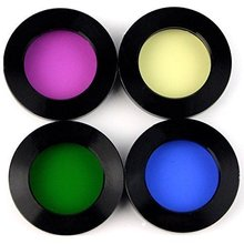 "Telescope filters set 1.25"" Four Color Filter Set Green/Red/Yellow/Blue"