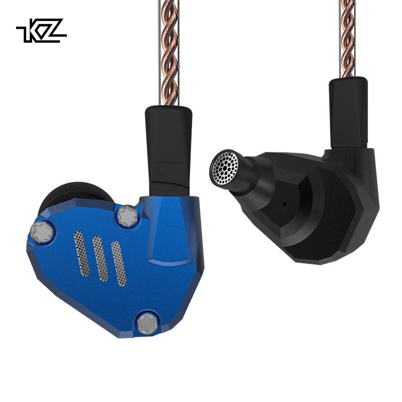 KZ ZS7 Écouteurs 4BA + 1DD Hybride Dans L'oreille Casque HIFI Basse Casque DJ Moniteur Écouteurs Écouteurs KZ ZS6 AS10 ZST ES4 ED16 BA10 - 3