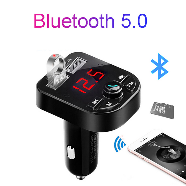 Bluetooth FM Transmitter Charger 2020 Year New Version