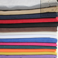 150cm Wide Solid Suede Fabric Clothing Fashion Apparel Fabric Home Decor Faux Suede Upholstery Fabric Sew Classic Suede Cloth