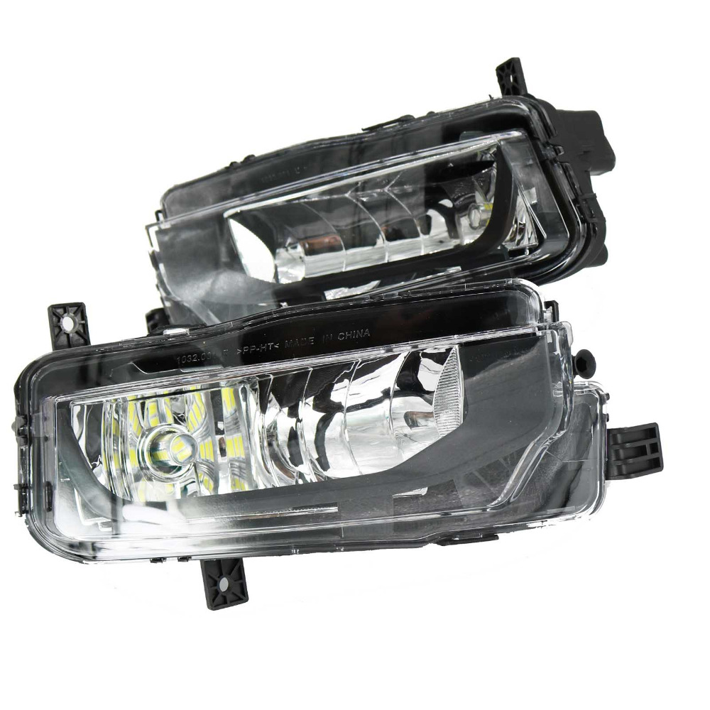 2Pcs LED Light For VW T6 T7 Transporter Multivan Campmob Car Styling 2016 2017 Front LED
