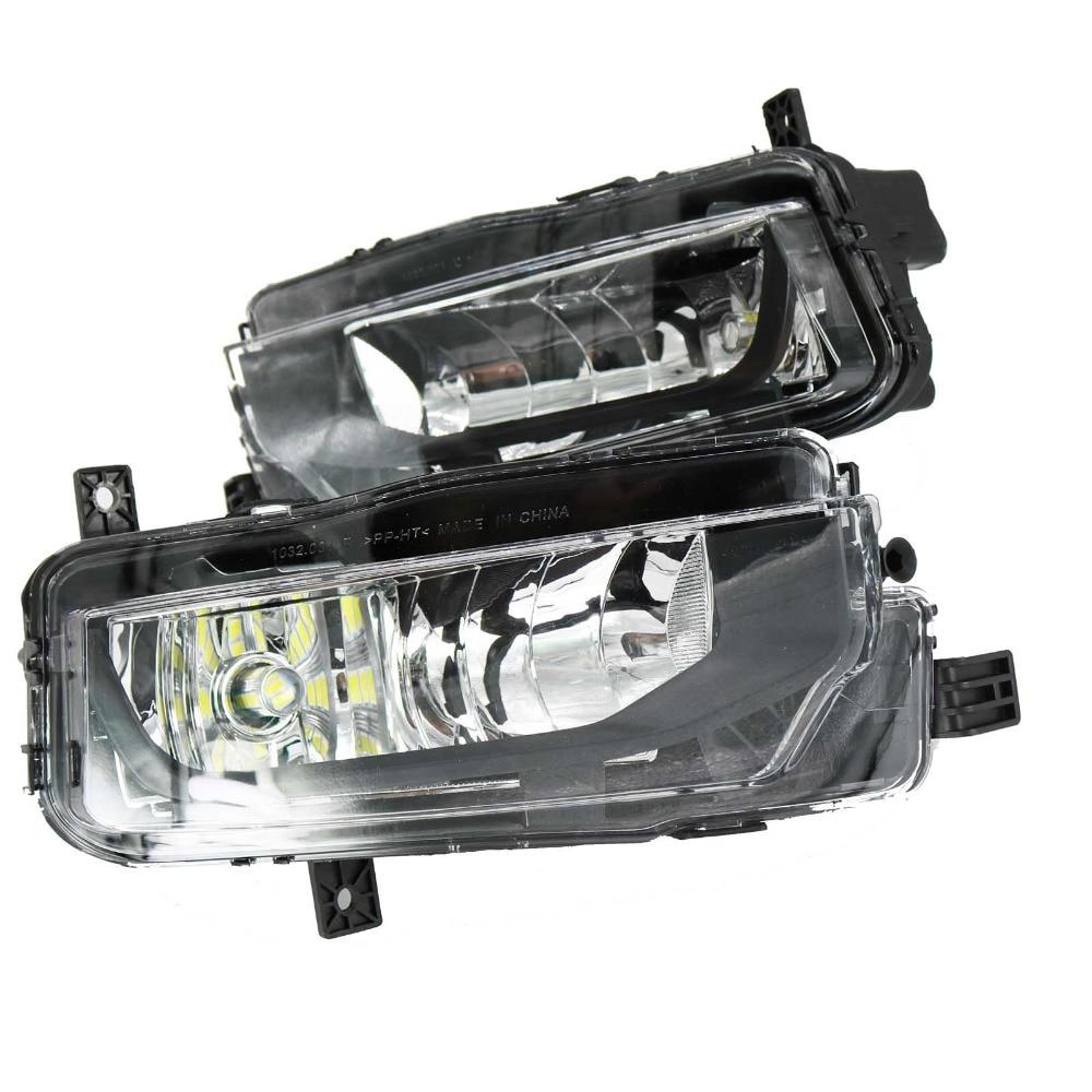 2Pcs LED Light For VW T6 T7 Transporter Multivan Campmob Car-Styling 2016 2017 Front LED Fog Lamp Fog Light цена
