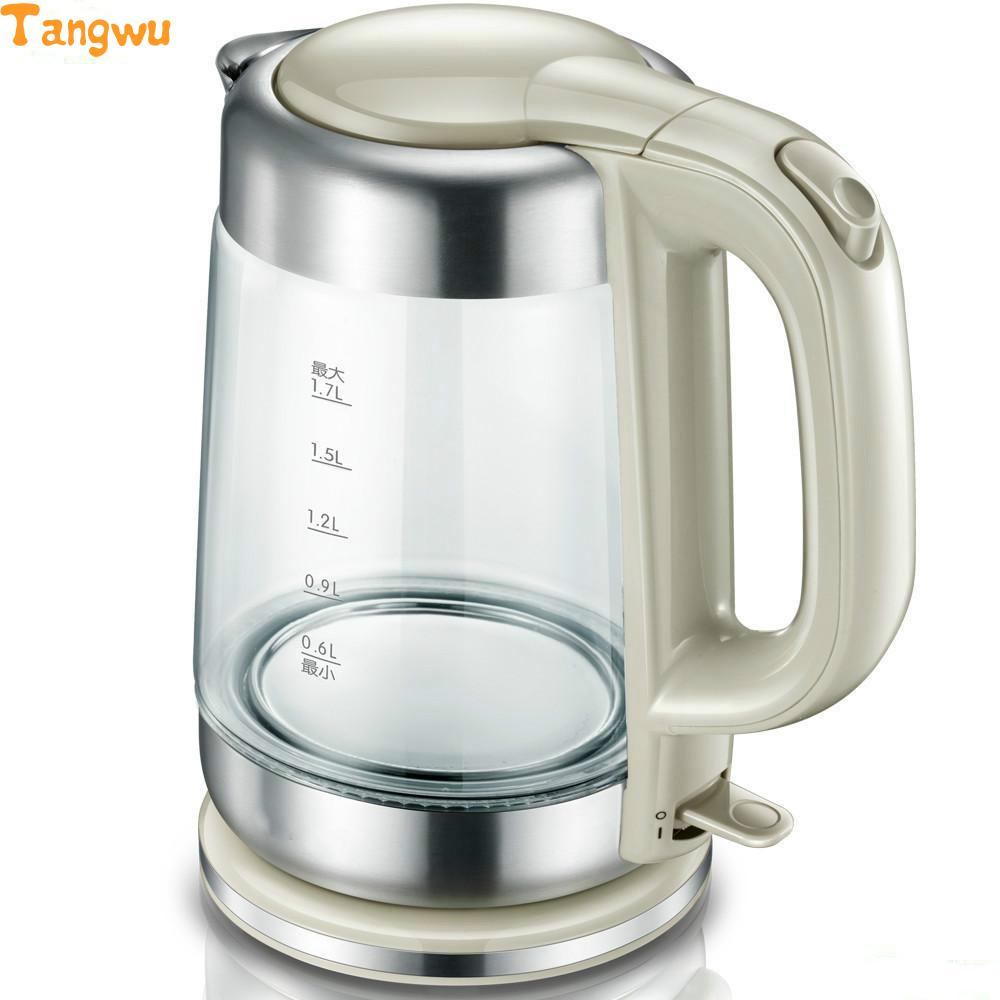 Free shipping Electric kettle automatically without electricity Glass Safety Auto-Off Function цена