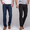 Men's Jeans straight fit classic denim Jeans Trousers famous brand pants blue black casual long pants jeans
