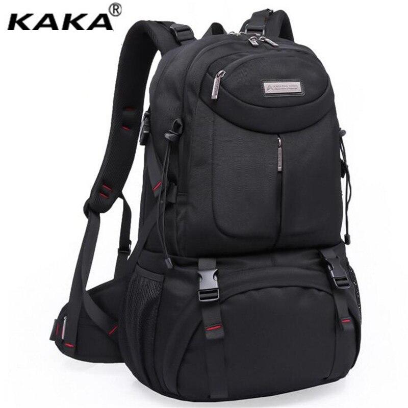 ФОТО KAKA Men And Women Laptop Backpack Rucksack SchooL Bag Travel waterproof Backpack Male Notebook Computer Bag X821