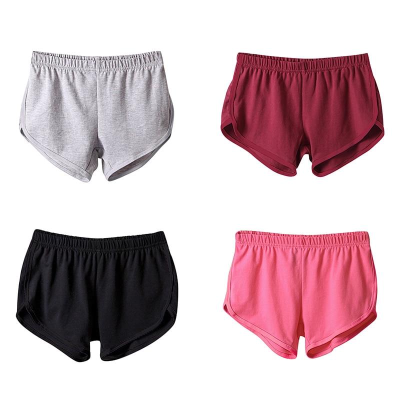 2018 Fashion Summer Loose Soft Shorts Women Elastic Waist Short Pants Women Shorts Solid Comfortable