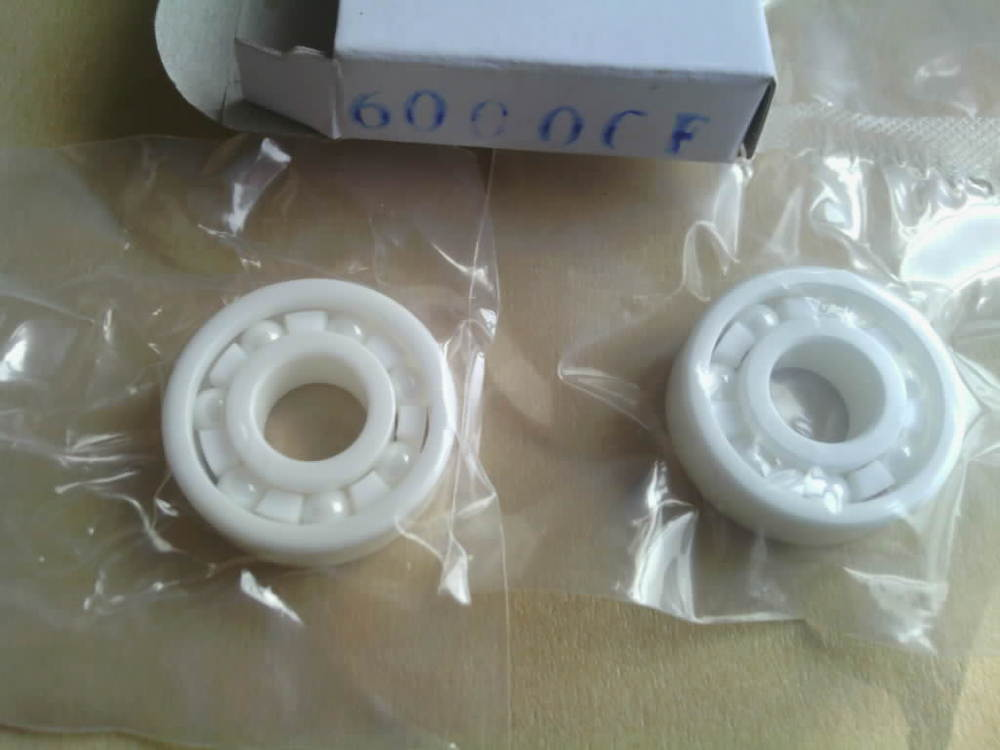 Full Ceramic Bearing 687 ZrO2 7x14x3.5 mm Ball Bearings Non-magnetic Insulating PTFE Cage ABEC 3