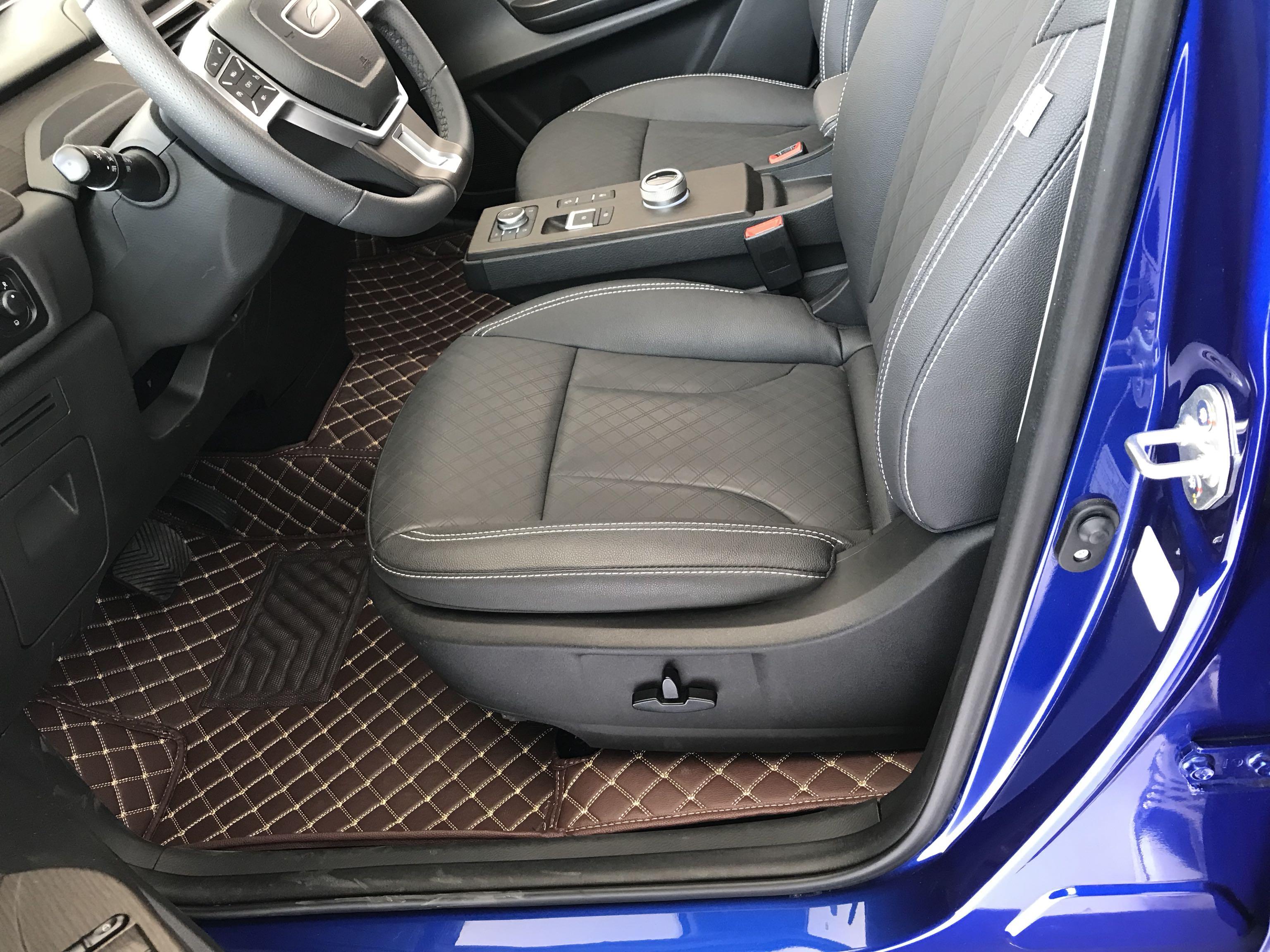 No Odor All Surrounded Waterproof Durable Rugs Custom Car Floor Mats For Volkswagen Beetle Golf Tiguan Sharan Passat CC EOS