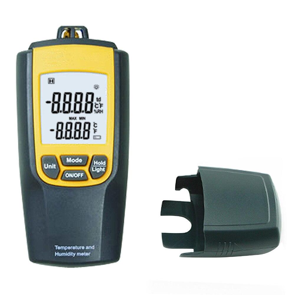 Digital Handheld 3 in 1 Air Temperature Humidity Meter Dew Point and Temperature Meter