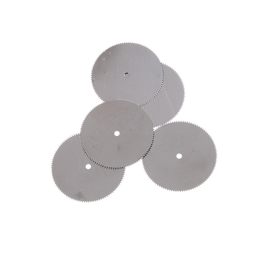 5Pcs/lot 32mm Metal Cutter Power Tool Set Wood Cutting Discs Drill Mandrel Cutoff For Rotary Tools