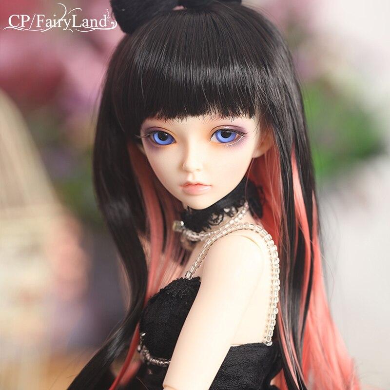 Бесплатная доставка Minifee Celine BJD куклы 1/4 Мода Гибкая Смола Рисунок Женский Феи Fullset игрушка для детей Fairyland